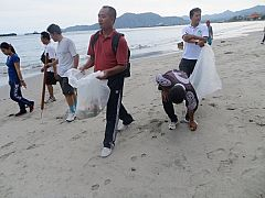 CLEAN BEACH IN THE VILLAGE OF TANAH AMPO